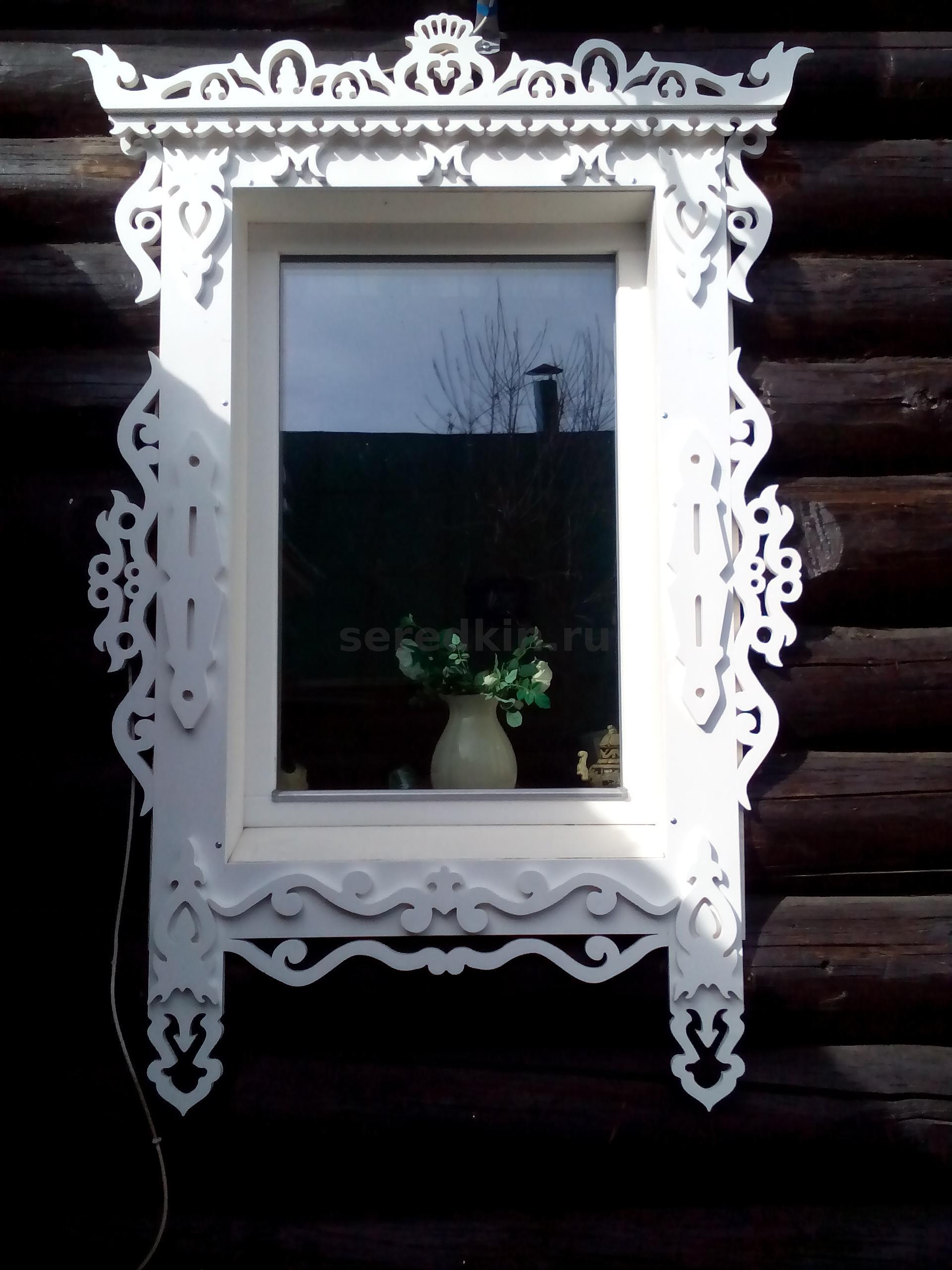 Резные наличники на окна фотографии мелкоячеистая